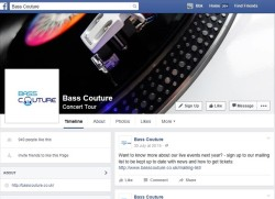 facebook bass couture uk events